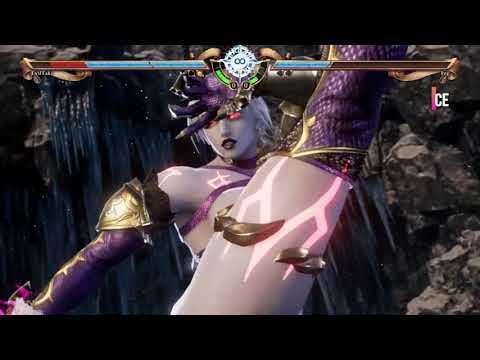 SOUL CALIBUR VI Character Creation : Malfested Female