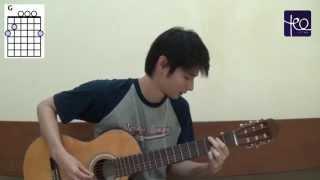 Akustik Gitar - Belajar Lagu (Sayap Pelindungmu - The Overtunes)