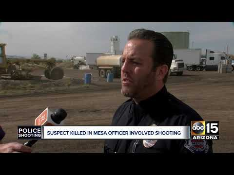 Mesa police officers fatally shoot man who pointed gun