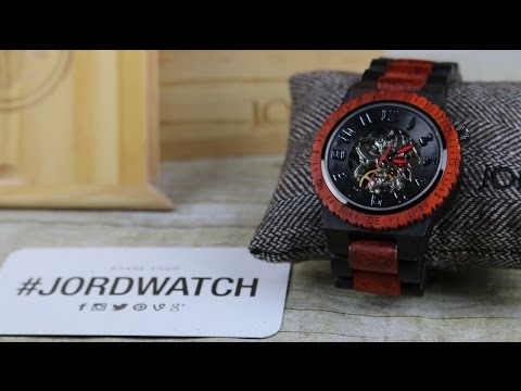 Giveaway from JORD Wood Watches | $149 Gift Card | FunFoodsYT