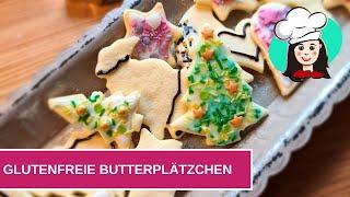 Glutenfreie Butterplätzchen
