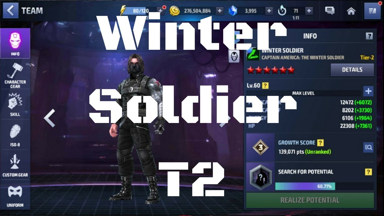 รีวิว Winter Soldier T2