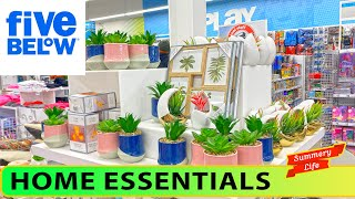 NEW Five Below HOME ESSENTIALS Decor STORAGE Containers ART Fitness Gear Accessories Equipment