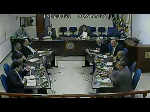 Câmara Municipal de Juquitiba - 24ª Sessão Ordinária 2016 - 16 de agosto de 2016