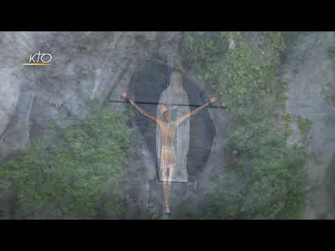 Chapelet à Lourdes du 28 mars 2020