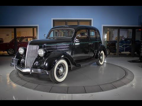 1936 Ford Sedan Black Beauty