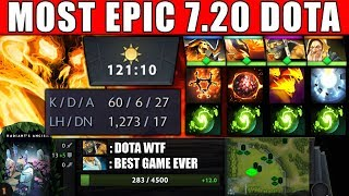 THIS IS WHY I PLAY DOTA 2 - OMG Craziest 7.20 GAME EPIC Comeback with All IMBA WTF COMBO