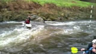 preview picture of video 'Kayak Saint-Brieuc 16/01/10'