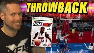 NBA 2K7 THROWBACK! Wait till you see this game...