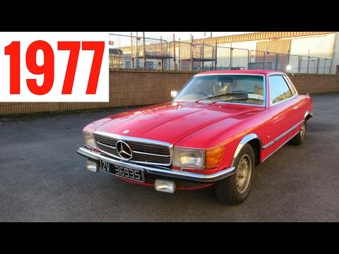 Driving A Classic 1977 Mercedes-Benz 450 SLC - Stavros969