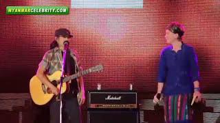 Thai Famous Rock Band, CARABAO Perform in Yangon