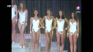 Miss Turkey - Ceyda Düvenci   Nefise Karatay @ 1997