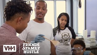 T.I. & The Harris Family Take Over Major's Soap Project | T.I. & Tiny: The Family Hustle