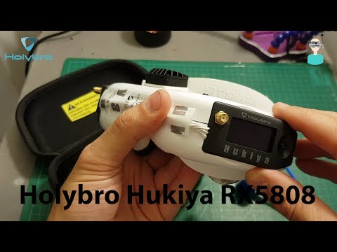 Holybro Hukiya RX5808 Pro Diversity Receiver - Unboxing And Overview