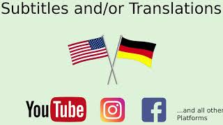 I will add and or translate your subtitles from english or german