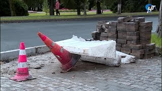 Улица Газон в районе памятника Рахманинова лишилась пешеходного перехода