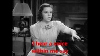 In Between - Judy Garland with Lyrics