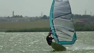 POWER JIBE - Carving Gibe , WINDSURFING lessons-tutorial ,lulu