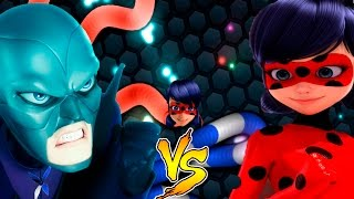 Slither.io Miraculous Ladybug vs Hawk Moth batalha de cobrinha...