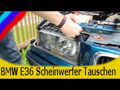 BMW E36 Scheinwerfer Tauschen
