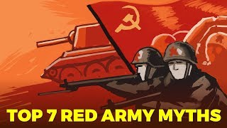 Top 7 Red Army Myths   World War 2