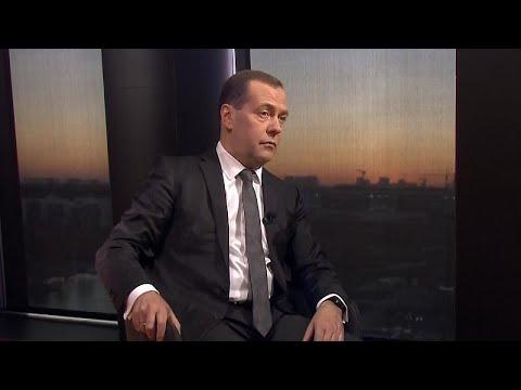 Αποκλειστική συνέντευξη του Ντμίτρι Μεντβέντεφ στο Euronews…