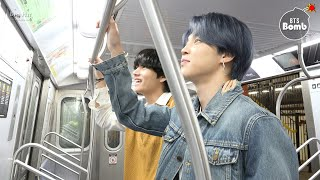 [BANGTAN BOMB] Tonight Show Subway - BTS (방탄소년단)