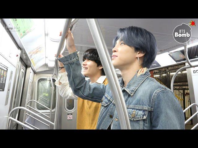 [BANGTAN BOMB] Tonight Show Subway - BTS (방탄소년단)