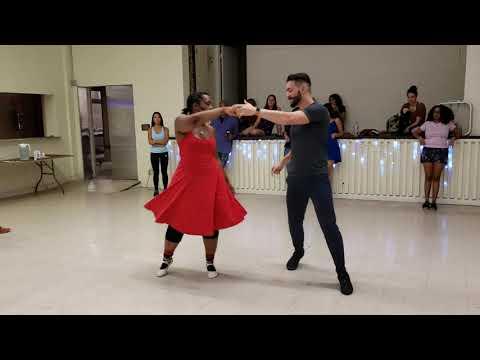 Alisson & Krystal Demo at Dancesport