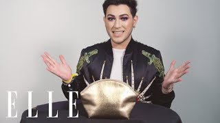 Manny MUA Does an Insane Makeup Look on an ELLE Editor in 5 Minutes!   Mystery Beauty Bag   ELLE