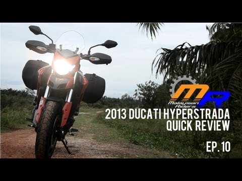 2013 Ducati Hyperstrada Quick Review -- Ep.10