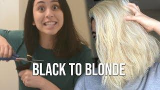 Black To Blonde Hair At Home   Virgin Hair Transformation