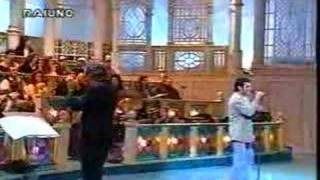 Nicola Napolitano a Sanremo - Selezioni 1993