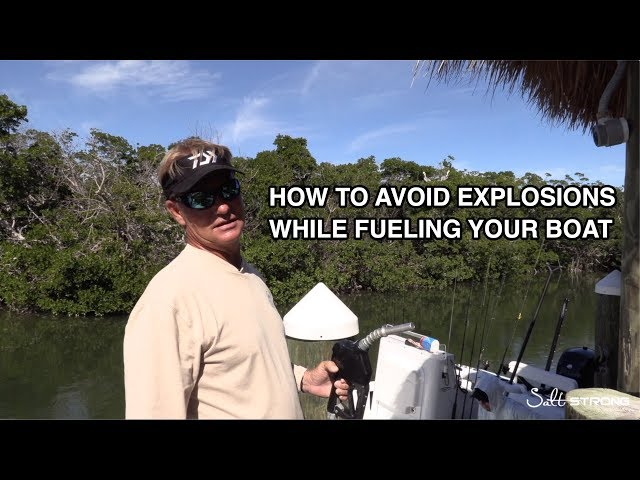 Fueling Your Boat: 3 Tips To Avoid EXPLOSIONS!