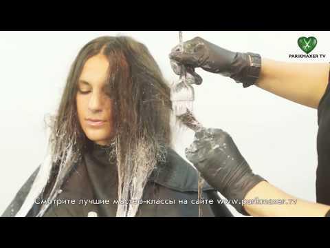 Простое омбре How to: ombre your hair. parikmaxer tv парикмахер тв