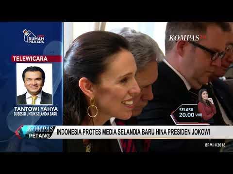 Jokowi Dinilai Tak Hormat pada PM Selandia Baru, RI Protes