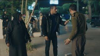 Nesr El Se'eed زين القناوي ينقذ سيدة كبيرة من ايد امين شرطة - مسلسل نسر الصعيد - محمد رمضان