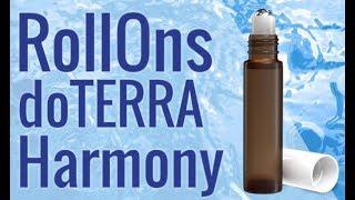 RollOns mit ätherischen Ölen herstellen - Das doTERRA Harmony Kit