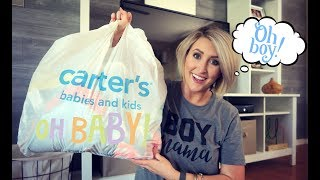 MASSIVE CARTERS HAUL | Baby Boy Clothing Haul | Summer Whitfield