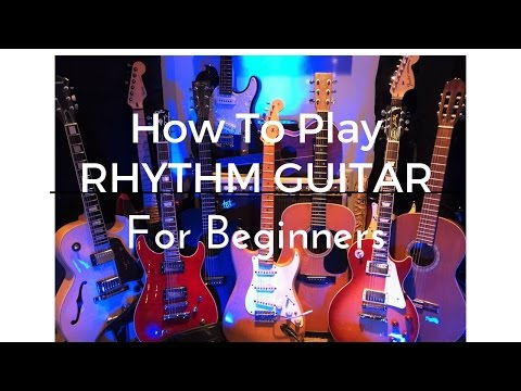 Free rhythm guitar lesson.