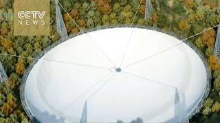 انشاء أكبر تلسكوب لاسلكي في العالم بالصين