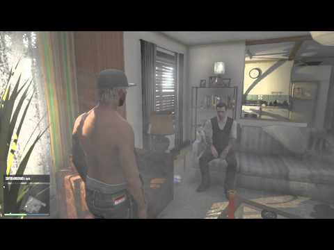 Chuck Throws A Talent Show In His GTA Online Apartment.