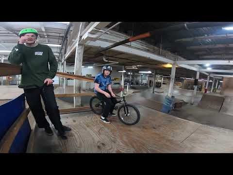 THE COOLEST PUMP TRACK EVER! Ramp riders skatepark