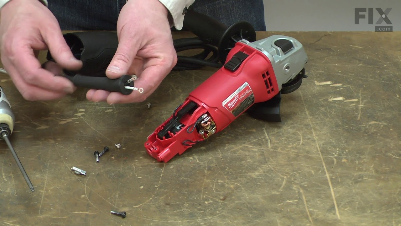 Replacing your Milwaukee Electric Drill Cord Protector