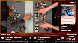Pro Tour Dragons of Tarkir Round 10 (Draft): Shota Yasooka vs. Adrian Sullivan