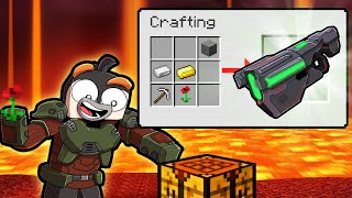 I Craft the Ultimate WEAPON a BFG! (Scramble Craft)