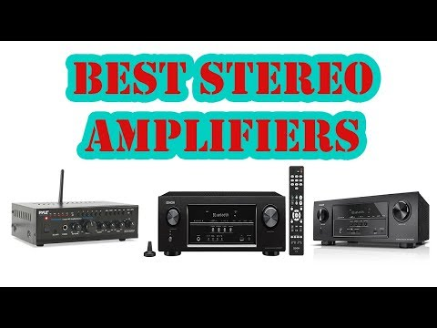 Top 5 Best Stereo Amplifiers Review 2018