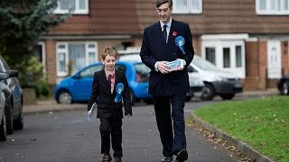 Jacob Rees-Mogg (and son) take the fight to Ukip in Rochester by-election