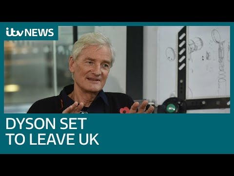 Brexit backer James Dyson ditches Britain for Singapore in HQ move | ITV News
