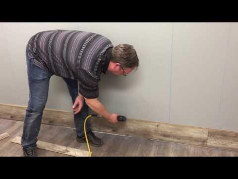 Laminate Flooring Wall Installation